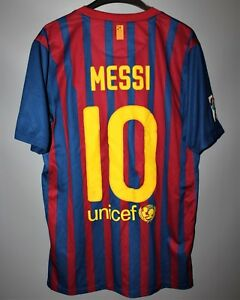 cc10ad312ef BARCELONA SPAIN 2011/2012 HOME FOOTBALL SHIRT JERSEY CAMISETA MAGLIA ...