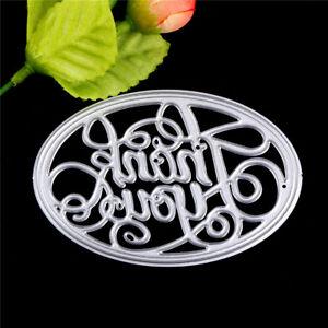 Thank-you-Oval-Metal-Cutting-Dies-Stencil-For-Scrapbooking-DIY-Album-Card-KQ-uW