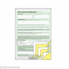 Sigel Vordruck Mietvertrag für gewerbliche räume A4 SD | eBay