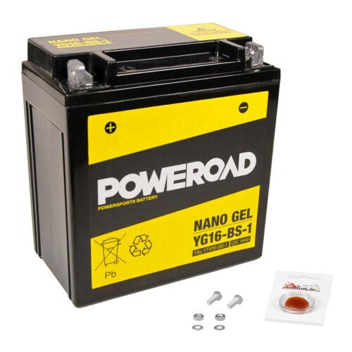 mit Pfand C1 wartungsfrei 13-16 Gel-Batterie Suzuki Intruder C1500 T