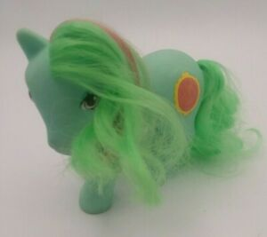 Vintage-1987-Hasbro-My-Little-Pony-Mirror-Mirror-Magic-Message-Hong-Kong-MLP