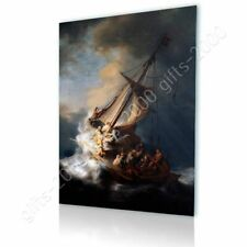 06868 REMBRANDT CHRIST IN THE STORM FINE ART LAMINATED POSTER US