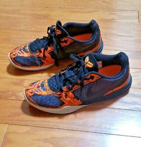 Nike Kobe Bryant Mamba Mentality Orange Pewter Lunarlon Shoes Sz10 704942-200