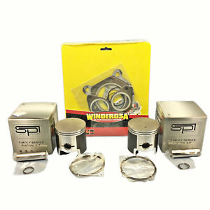 72mm-Std-SPI-Pistons-Haut-Fin-Joints-1986-1998-Polaris-488-Indy-Trail-Supertrak