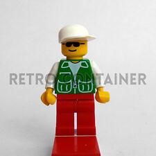 LEGO Minifigures - Driver - pck025 - Pilota City Town Omino Minifig Set 3226
