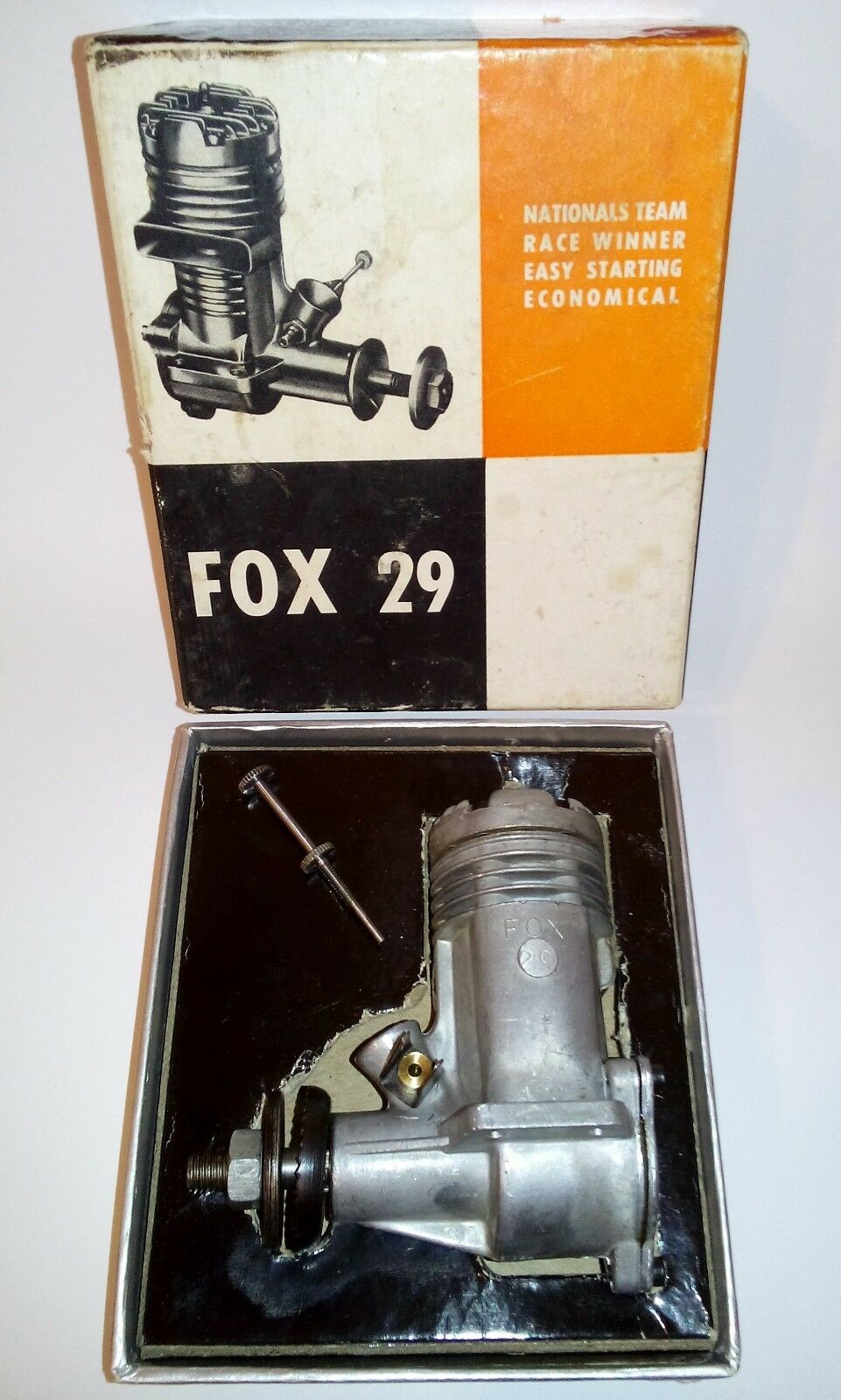 FOX 29 Control Line Engine 4.75cc