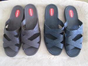 a7e530415a1461 Image is loading Women-039-s-Okabashi-Cross-Strap-Sandals-Choice-