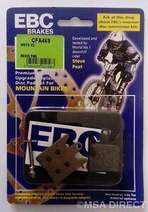 EBC Resin Organic Compound Mountain Bike Disc Brake Pads Fits HOPE MOTO V2