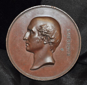 1860-Thomas-Lawrence-Medal-Art-Union-of-London-Wellington-AE-56mm