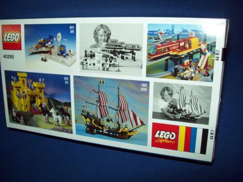 Lego 40290 60th Anniversario Set Castello Spazio Nave Nuovo Inscatolato