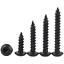 Grade 8.8 M3 M4 M5 M6 Button Head Socket Cap Self Tapping Screws Black Zinc