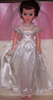 "Eegee Wedding Dress Bride 18"" Fashion Vinyl Doll Vintage 1960's Original NIB"