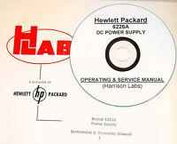 Hp Hewlett Packard 6226a Dc Power Supply Operating & Service Manual (schematics)