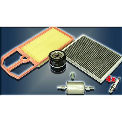 FILTRO inspektionskit Set pacchetto L SEAT IBIZA VW LUPO POLO 6n2 1,4 16v 1,6 GTI