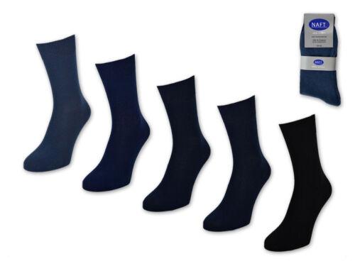 20 Paia Calzini Uomo 100/% Cotone senza Avvicinarsi Business Calze da Blu Jeans