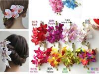 Fashion Lady Womens Hair Flower Clip Bridal Hawaii Party Hair Accessories
