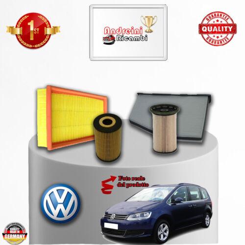 KIT TAGLIANDO 4 FILTRI VW SHARAN II 2.0 TDI 125KW 170CV DAL 2010 />