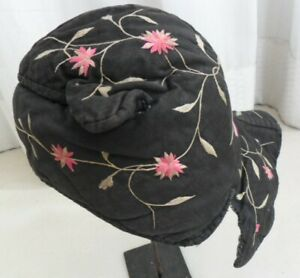 Deluxe Chinese Miao people´s old hand embroidery Child hat