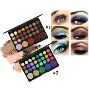 Cosmetic-Matte-Eyeshadow-Cream-Eye-Shadow-Makeup-Palette-Shimmer-lot-GD75