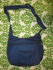 TRAVELON purse handbag crossbody blue durable NEW NWOT anti theft vacation safe