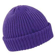 0269602ea Brekka Beanie Mens Womens MILANO Purple Ski Winter Hat Snowboard ...