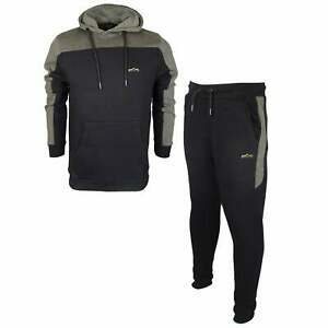 883-Police-Nevis-Fabian-Cotton-Overhead-Hooded-Slim-Fit-Black-Tracksuit