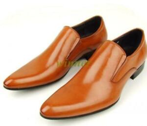 Hot Men's Loafer Real Leather Pointed