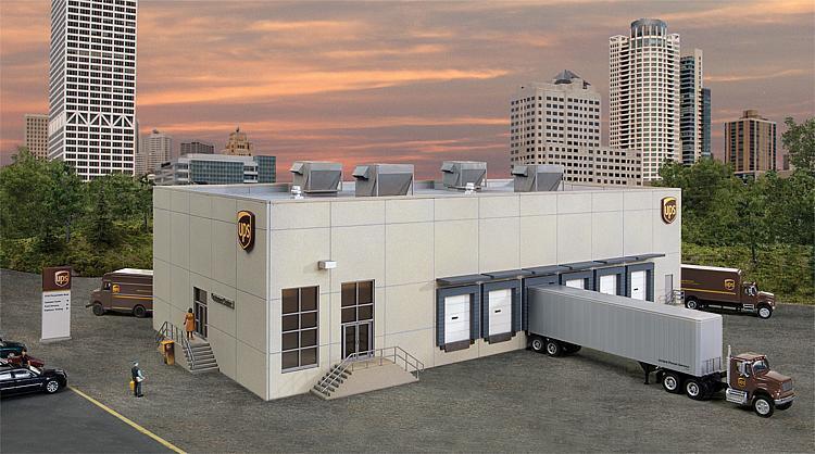 Ups hub con clientes-Center, Faller kit miniatura mundos h0 (1 87), Art. 534110