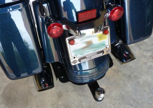 Hidden Street Glide Road Glide Trailer Hitch with Removable Tow Bar and Ball