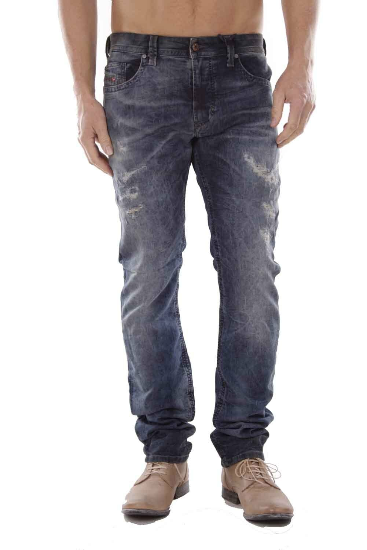 Diesel Thavar-Ne Jeans da Jogging 0607W Jeans Pantaloni men Tgl W32
