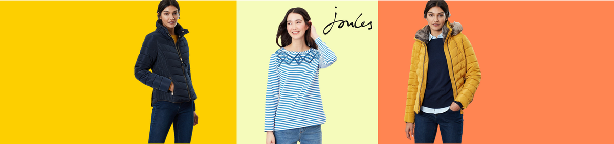 Up to 50% off Joules