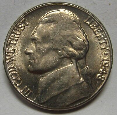 1956 1 pc P Jefferson Nickel Choice//Gem BU Coin