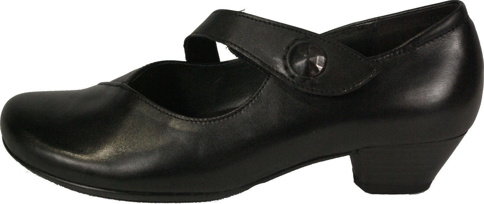 Gabor zapatos zapatos zapatos de salón Mary Jane negro de cuero G-anchura del apartado 3,5 cambio plantilla nuevo  grandes precios de descuento
