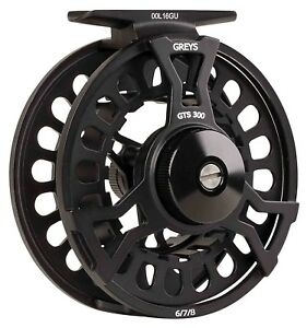 Greys-New-2018-GTS300-4-5-6-amp-6-7-8-Fly-Fishing-Freshwater-Trout-Fishing-Reels
