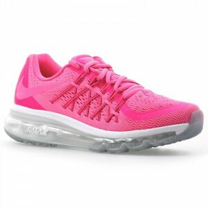 quality design 9df1a 0668d Image is loading Nike-Air-Max-2015-Women-039-s-Pink-