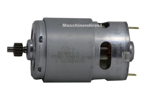 Makita 629937-8 pièce de rechange Moteur à courant continu 18,0 V pour bhp453 genuine parts