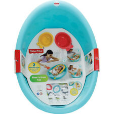 e1f231ab92a2 Fisher- Rinse  n Grow Tub Sling Newborn Baby Infant Sitting 3 Stages ...