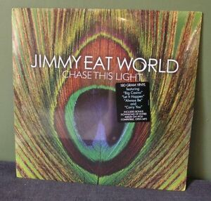 """Jimmy Eat World """"Chase This Light""""LP OOP Sealed The Get Up ..."""