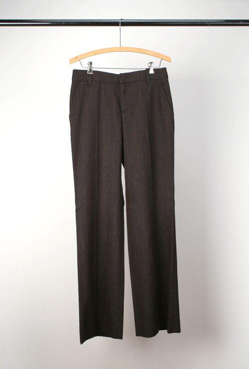 Marni - NWT Wool Lowrise Pants - Brown 40