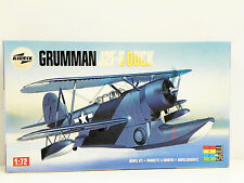 "AIRFIX 1/72 SCALE U/A ""GRUMMAN J2F-6 DUCK"" PLASTIC MODEL KIT #03031"