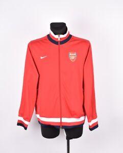 a2f2550c4f094 La imagen se está cargando Nike-Arsenal-Futbol-Hombre-Jersey-Chaqueta-de- Chandal-
