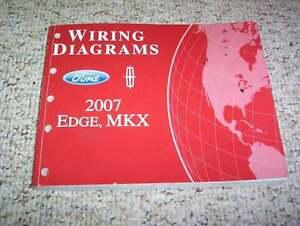 2007 lincoln mkx electrical wiring diagram manual 3 5l v6 image is loading 2007 lincoln mkx electrical wiring diagram manual 3