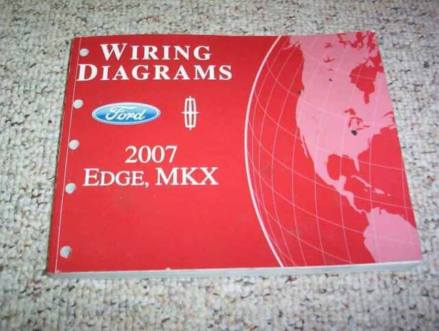 2007 Lincoln Mkx Electrical Wiring Diagram Manual 3 5l V6
