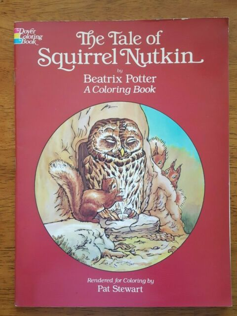 The Tale Of Squirrel Nutkin By Beatrix Potter A Coloring ...
