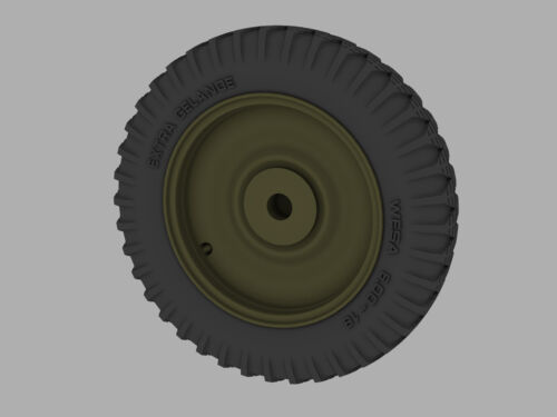 """RE35-203 Road Wheels for Kfz.1 """"Stover"""" 1:35 Early Pattern PANZER ART"""