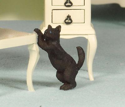 1:12 Scala Gatto Doll House Miniatura Accessorio Animali Pet (2916)-mostra Il Titolo Originale Aiutare A Digerire Cibi Grassi