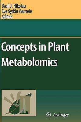 Concepts in Plant Metabolomics by