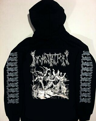 INCANTATION Hoodie Immolation Goreaphobia MORBID ANGEL Immolation Hooded S XL