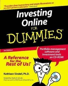 Investing-Online-for-Dummies-by-Kathleen-Sindell-2000-Paperback