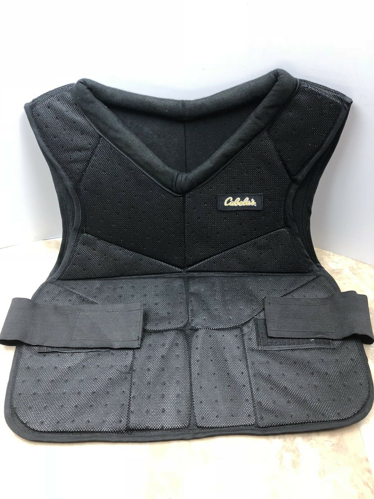 Cabela's Hunting Shooting Vest Men's Size Large Excellent Condition Mesh